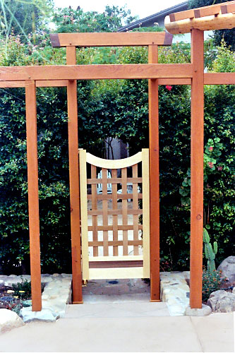 beautiful japanese wooden garden structures 11